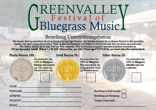 Lineup - Frets Unlimited Bluegrass Band